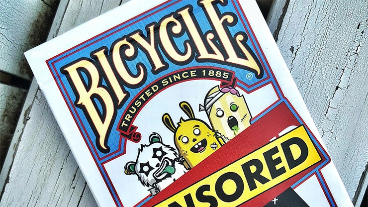 Bicycle Censored Playing Cards by US Playing Card Co.
