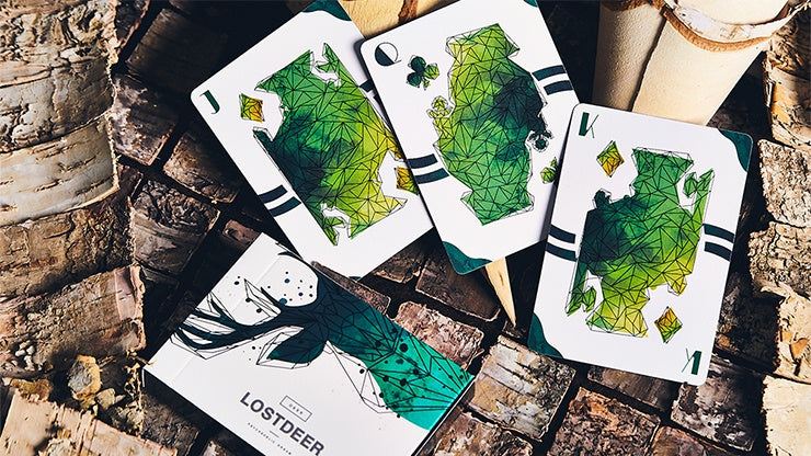 Lost Deer Playing Cards by Bocopo Playing Card Co.
