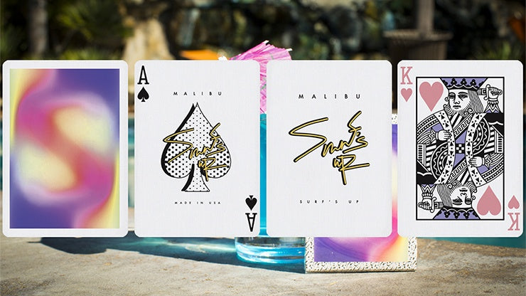 Malibu V2 Playing Cards by Gemini