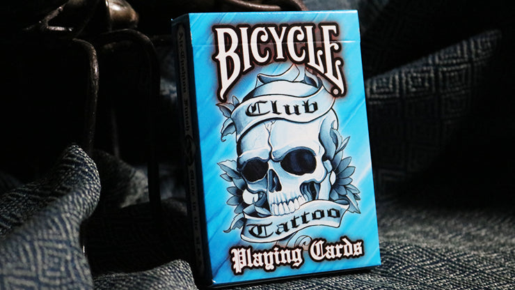 Bicycle Club Tattoo (Blue)