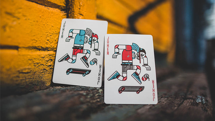 Skateboard V2 (Marked) Playing Cards