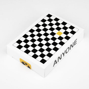 Anyone Worldwide Black/Yellow Checkerboard