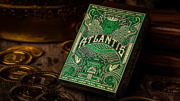 Atlantis Playing Cards - Rise Edition Playing Cards by Riffle Shuffle Playing Card Company