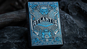 Atlantis Playing Cards - Sink Edition Playing Cards by Riffle Shuffle Playing Card Company
