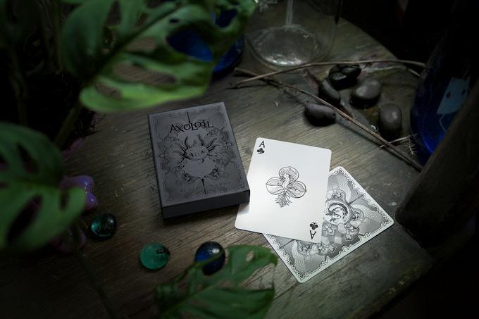 Axolotl Playing Cards by Enigma Cards Playing Cards by Cartamundi