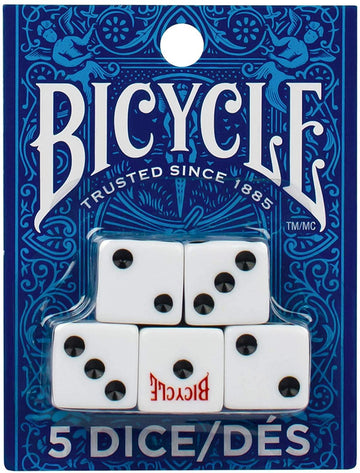 Bicycle 5 Count Dice Playing Cards by Bicycle Playing Cards