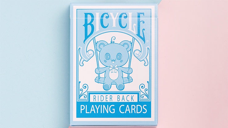 Bicycle Lovely Bear Playing Cards - Light Blue (Limited Edition)