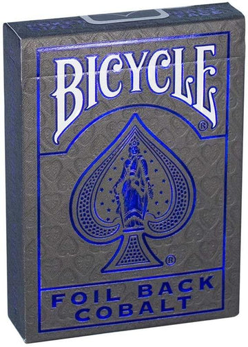 Bicycle MetalLuxe Cobalt Rider Back Playing Cards - Blue Playing Cards by RarePlayingCards.com