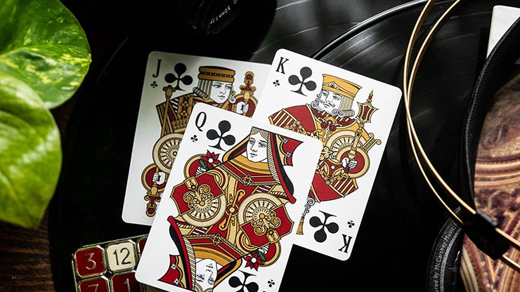 Scarlett Bicycle - Standard Edition Playing Cards by RarePlayingCards.com