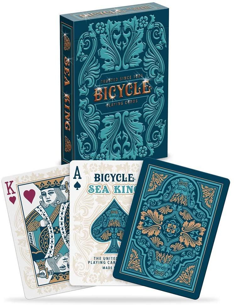 Bicycle Sea King Playing Cards by USPCC Playing Cards by RarePlayingCards.com