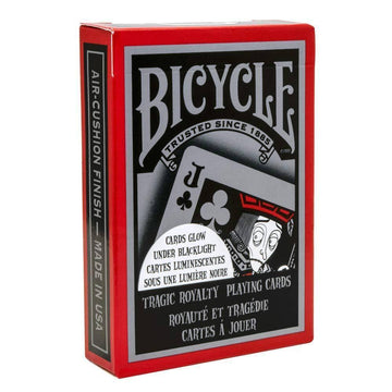 Bicycle Tragic Royalty Playing Cards Playing Cards by Bicycle Playing Cards