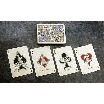 Bicycle US Presidents Playing Cards (Deluxe Embossed Collector Edition)