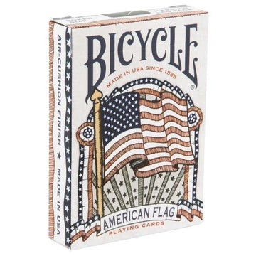 Bicycle American Flag Playing Cards by USPCC Playing Cards by US Playing Card Co.