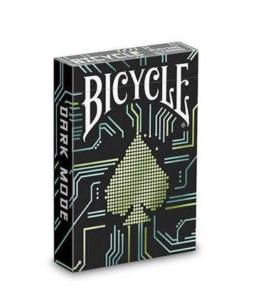 Bicycle Dark Mode Playing Cards by USPCC Playing Cards by RarePlayingCards.com
