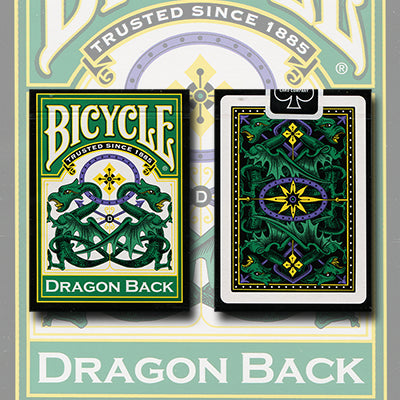 Bicycle® Green Dragon Back