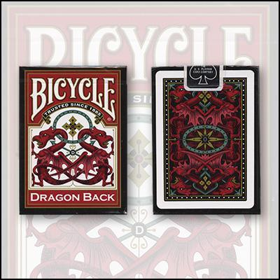 Bicycle® Red Dragon Back