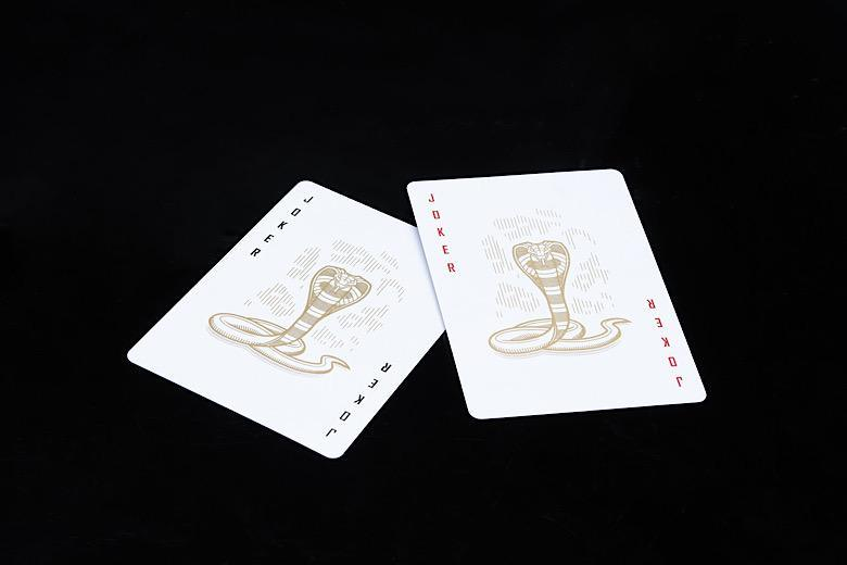 COBRA Black Edition Playing Cards Playing Cards by Cartamundi