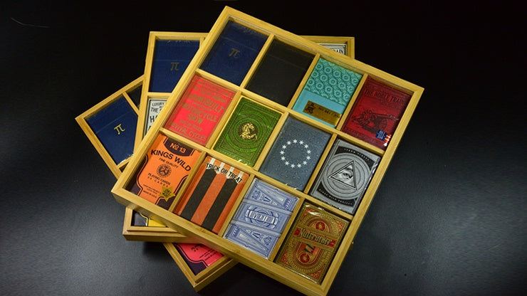 Carat Bamboo 12 Deck Display Playing Cards by Carat Case Creations