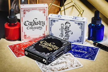 Cardistry Calligraphy Gold Foiled Edition