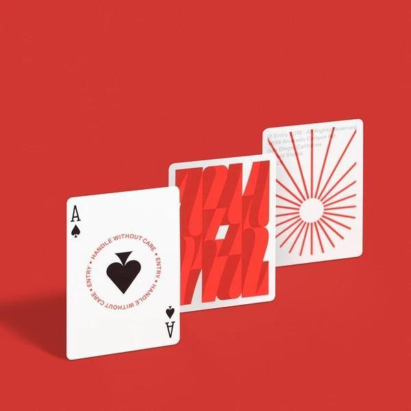 Entry V3 Peppers Playing Cards