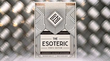Esoteric Static Edition Playing Cards Playing Cards by RarePlayingCards.com