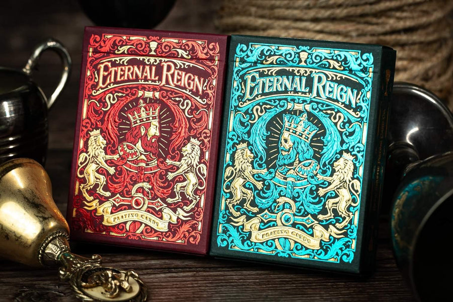 Eternal Reign Ruby Empire Playing Cards by Riffle Shuffle Playing Cards by Riffle Shuffle Playing Card Company