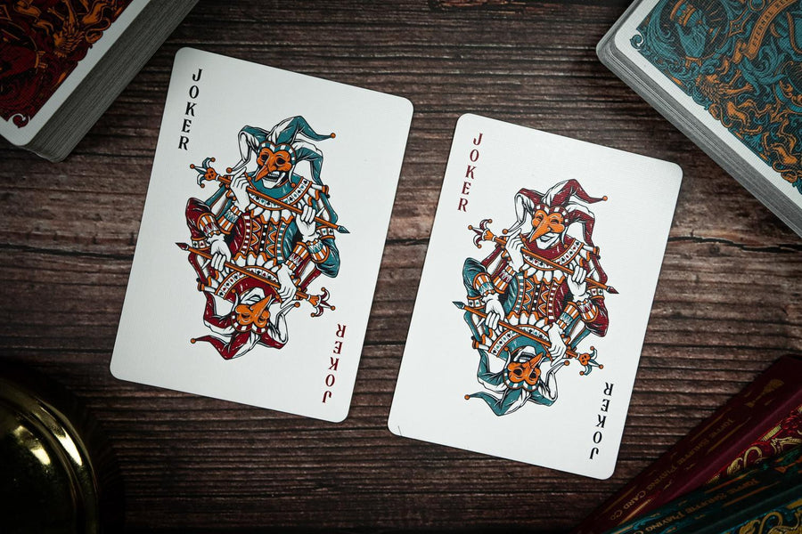 Eternal Reign Sapphire Kingdom Playing Cards by Riffle Shuffle Playing Cards by Riffle Shuffle Playing Card Company