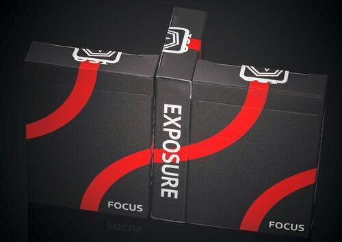 Focus Playing Cards Playing Cards by RarePlayingCards.com