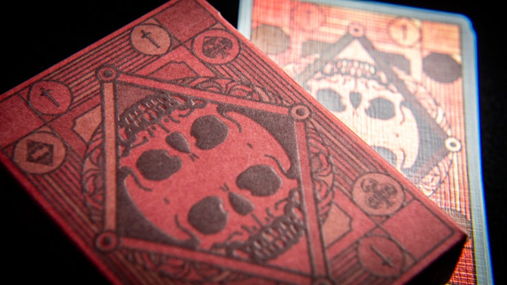 Graveyard Playing Cards Playing Cards by RarePlayingCards.com