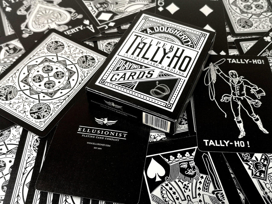 Tally-Ho Viper Fan Back Playing Cards Playing Cards by RarePlayingCards.com