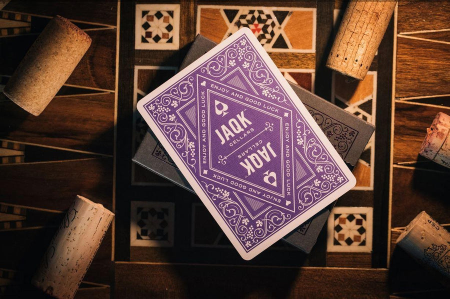 JAQK Amethyst Playing Cards by Theory11