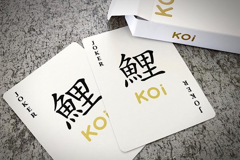 Koi V2 Playing Cards Playing Cards by RarePlayingCards.com