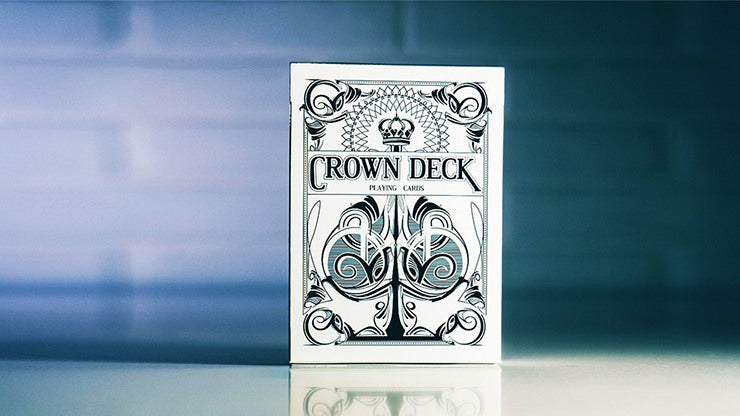 Crown Deck Playing Cards - Snow Playing Cards by RarePlayingCards.com