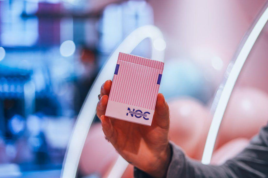 Limited Edition NOC3000X2 (Pink) Playing Cards Playing Cards by HOPC