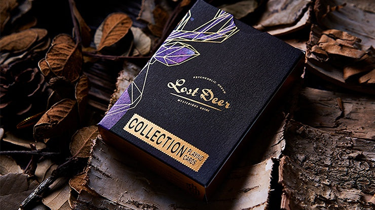 Lost Deer Black Edition Playing Cards by BOCOPO Playing Cards by Bocopo Playing Card Co.