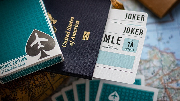 Lounge Edition in Terminal Teal by Jetsetter Playing Cards Playing Cards by Jetsetter Playing Cards
