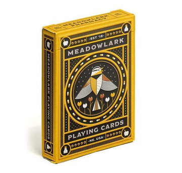 Meadowlark Playing Cards Playing Cards by RarePlayingCards.com