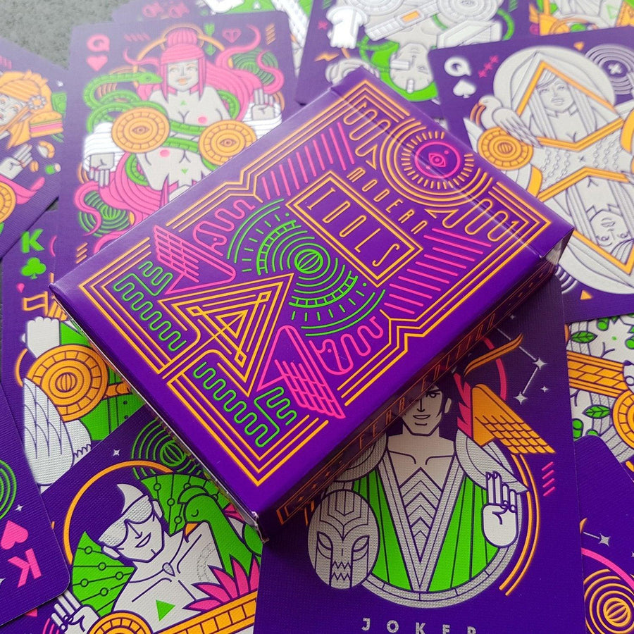 Modern Idols Fear Playing Cards by Thirdway Industries Playing Cards by Thirdway Industries