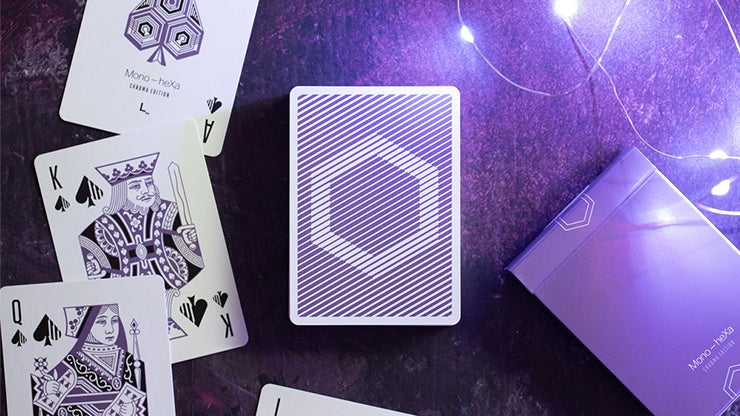 Mono-heXa Chroma - Numbered Seal Playing Cards by Luke Wadey