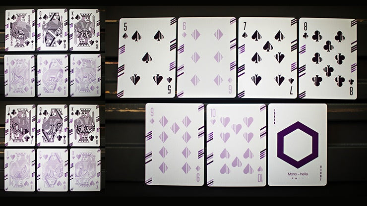 Mono-heXa Playing Cards Playing Cards by Luke Wadey