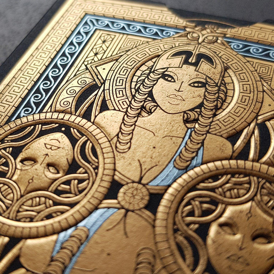 Odissea Minerva Playing Cards by Thirdway Industries Playing Cards by Thirdway Industries