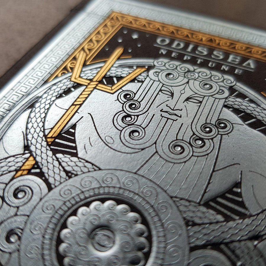Odissea Neptune Playing Cards by Thirdway Industries Playing Cards by Thirdway Industries