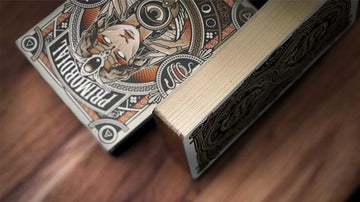 Primordial Greek Mythology Playing Cards (Gold Gilded Aether Edition Limited to 500) Playing Cards by US Playing Card Co.