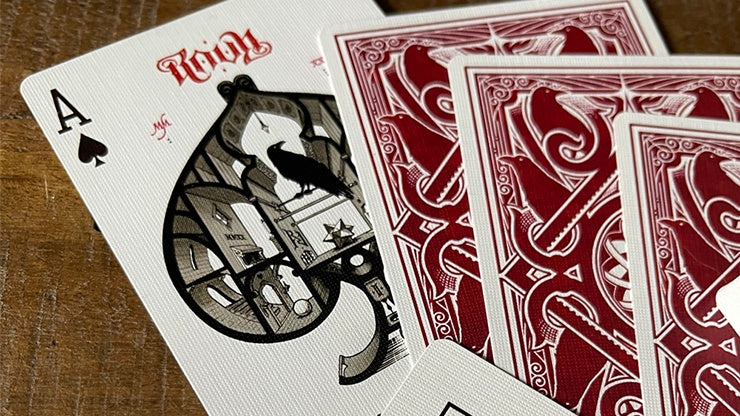 RAVN IIII Playing Cards - Red by Stockholm17 Playing Cards by Stockholm 17