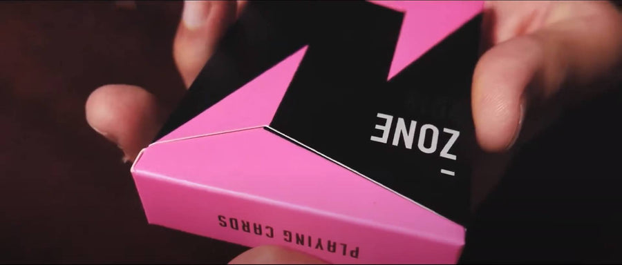 ZONE (Pink) Playing Cards by Bocopo Playing Cards by Bocopo Playing Card Co.