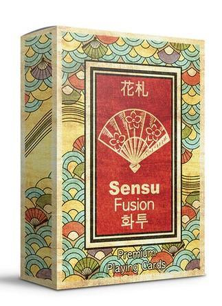 Sensu Fusion Playing Cards Playing Cards by RarePlayingCards.com