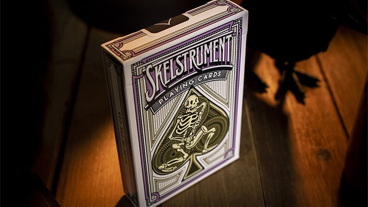 Skelstrument Playing Cards Playing Cards by RarePlayingCards.com