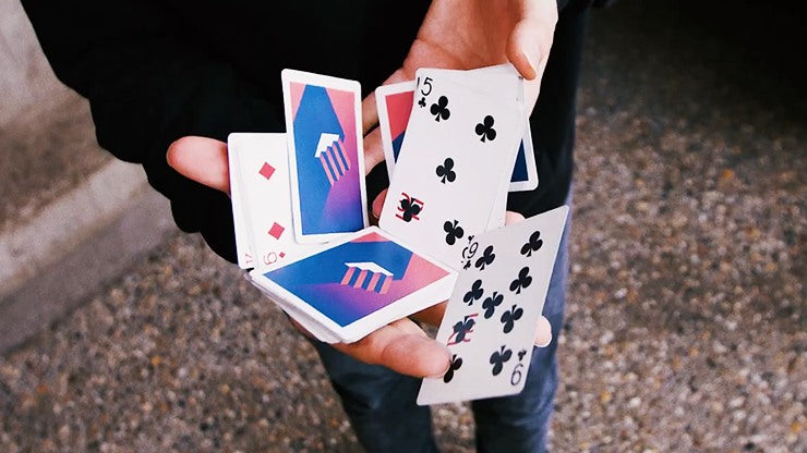 Stairs Playing Cards