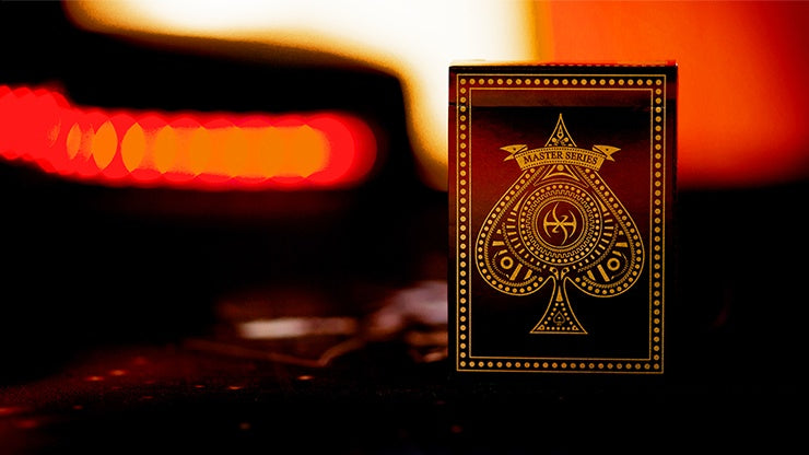 Standard Edition Dark Lordz (Black) by De'vo Playing Cards by RarePlayingCards.com