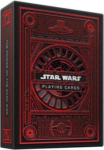 Star Wars The Dark Side Playing Cards by Theory11